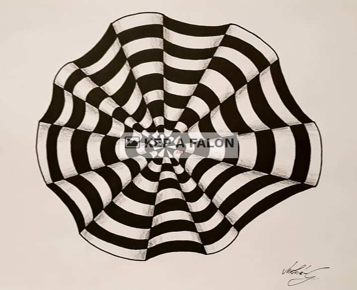 Op-art by: Molnár Gergely | 2020, other painting